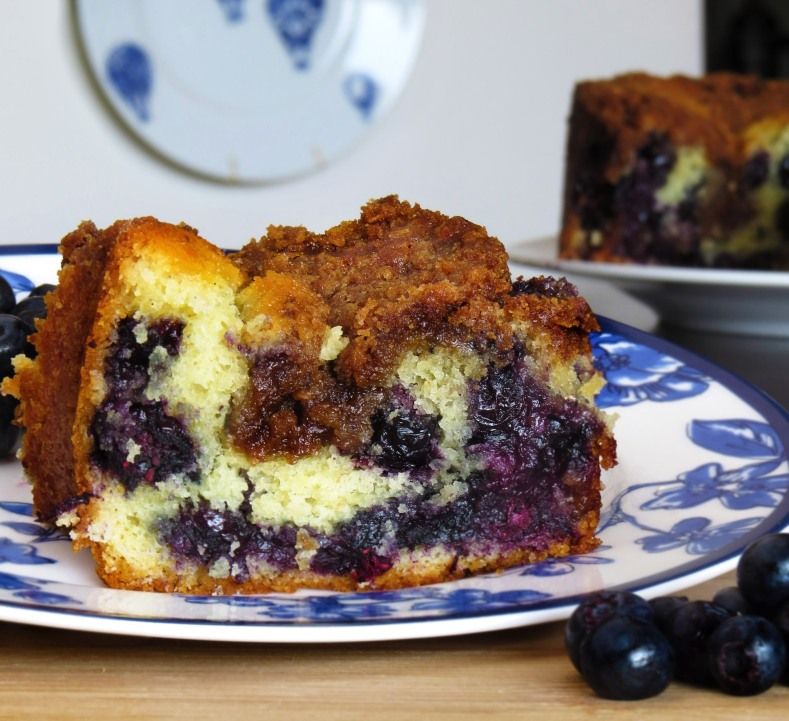 7.15.14 blueberry coffee cake
