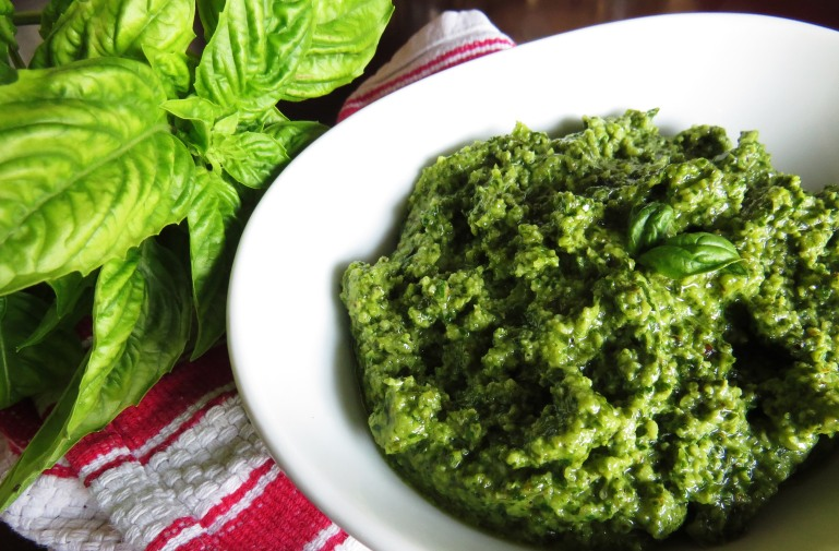 Walnut Basil Pesto | Girl and Apron