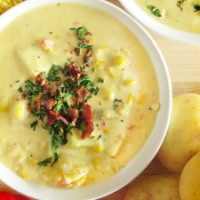 Indiana Corn and Potato Chowder