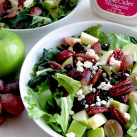 Harvest Salad with Apple Cider Vinaigrette