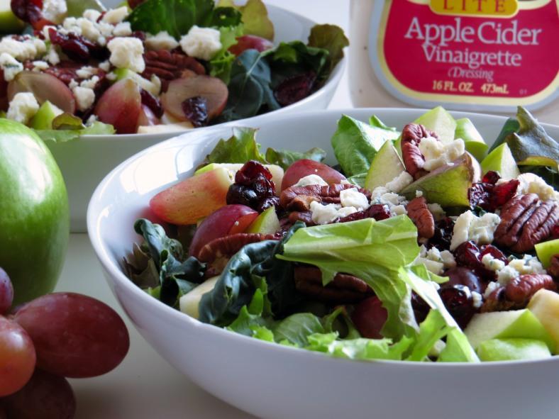 Harvest Salad with Apple Cider Vinaigrette